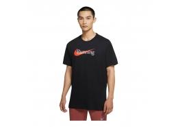 Nike Dri-Fit Erkek Siyah Koşu Tişörtü (CW0945-010)