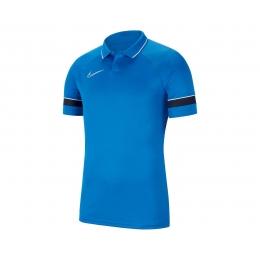 Academy 21 Erkek Mavi Polo Tişört (CW6104-463)