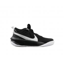 Team Hustle D 10 Çocuk Siyah Basketbol Ayakkabısı (CW6735-004)