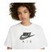 Air Women's Boyfriend Top Kadın Beyaz Tişört (CZ8614-100)