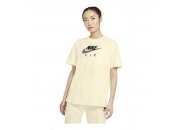Air Women's Boyfriend Top Kadın Sarı Tişört (CZ8614-113)