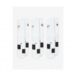 Everyday Crew 3 Çift Beyaz Basketbol Çorabı (DA2123-100)