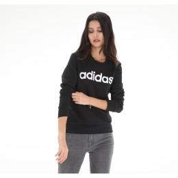 Essentials Linear Kadın Siyah Sweatshirt (DP2363)