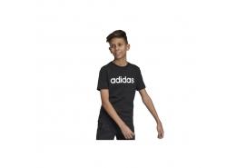 Essentials Linear Logo Çocuk Siyah Tişört