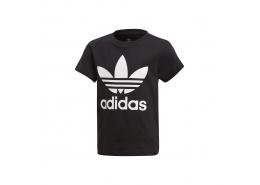 adidas Trefoil Çocuk Siyah Tişört (DV2858)