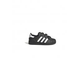 Superstar Çocuk Siyah Spor Ayakkabı (EF4840)