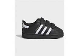Superstar Çocuk Siyah Spor Ayakkabı (EF4843)