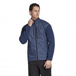 Windfleece Erkek Mavi Outdoor Sweatshirt