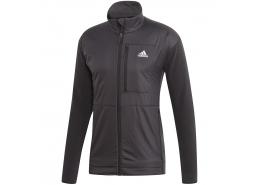 Windfleece Erkek Siyah Outdoor Sweatshirt
