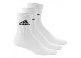 Cli Liner Unisex 3'lü Beyaz Spor Çorap
