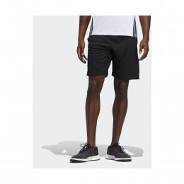 9-Inch 3 Bantlı Erkek Siyah Spor Şort (FM2107)