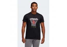 Dame Logo Erkek Siyah Tişört