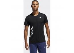 Run It 3 Bantlı PB Erkek Siyah Tişört