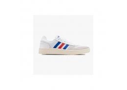 adidas Hoops 2.0 Erkek Beyaz Spor Ayakkabı (FW8250)