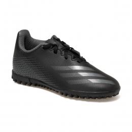 X Ghosted.4 TF Çocuk Siyah Halı Saha Ayakkabısı