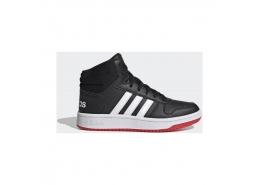 Hoops 2.0 Mid Çocuk Siyah Spor Ayakkabı (FY7009)
