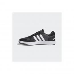 adidas Hoops 2.0 Erkek Siyah Spor Ayakkabı (FY8626)