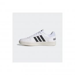 adidas Hoops 2.0 Erkek Beyaz Spor Ayakkabı (FY8629)