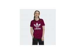 Trefoil Kadın Bordo Tişört (GD2433)