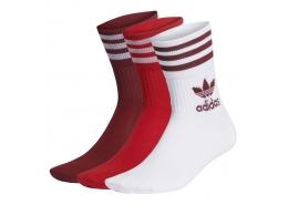 Mid Cut 3 Çift Bilekli Spor Çorap (GD3578)