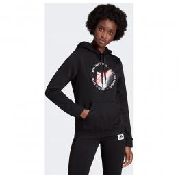 Unleash Confidence Graphic Kadın Siyah Sweatshirt