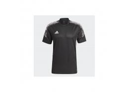 Condivo 21 Erkek Siyah Spor Tişört (GH7167)