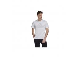 adidas M Fav T Erkek Beyaz Spor Tişört