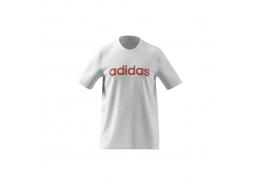 Essentials Embroidered Linear Logo Erkek Beyaz Tişört (GL0064)