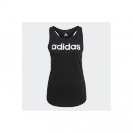 Loungewear Essentials Loose Logo Kadın Siyah Atlet (GL0566)