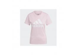 Loungewear Essentials Logo Kadın Pembe Tişört (GL0726)