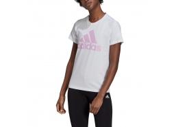 Loungewear Essentials Logo Kadın Beyaz Tişört (GL0730)