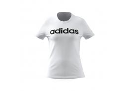 Loungewear Essentials Slim Logo Kadın Beyaz Tişört (GL0768)