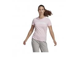 Loungewear Essentials Slim Logo Kadın Lila Tişört (GL0771)