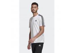 Essentials 3 Bantlı Erkek Beyaz Tişört (GL3733)