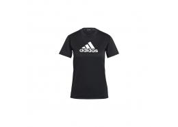 Playera Primeblue Designed 2 Move Logo Kadın Siyah Tişört (GL3820)