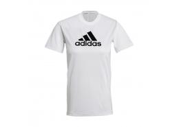 Playera Primeblue Designed 2 Move Logo Kadın Beyaz Tişört (GL3821)