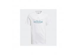 HER Studio London Floral Çocuk Beyaz Tişört (GN2302)