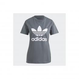 Adicolor Classics Trefoil Kadın Gri Tişört (GN2903)