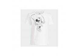 x Disney Çocuk Beyaz Tişört (GN4931)