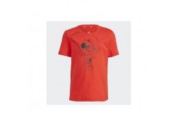 x Disney Çocuk Kırmızı Tişört (GN4934)
