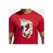Dame Abstraction Erkek Kırmızı Tişört (GN9000)