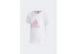 Training Essentials Summer Çocuk Beyaz Tişört (GP0405)