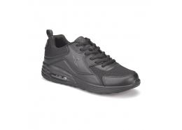 Alven Mesh Siyah Siyah Spor Ayakkabı