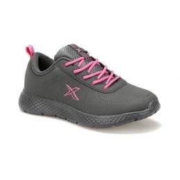 Nuper Pu Gri Kadın Spor Ayakkabı