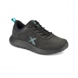 Nuper Pu Siyah Kadın Spor Ayakkabı
