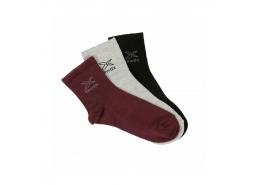 Darlene Erkek Siyah Günlük Çorap