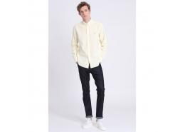 Tom Erkek Sarı Uzun Kol Gömlek (LF18SMSH111-YELLOW)