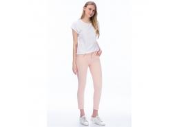 Kadın Toz Pembe Pantolon