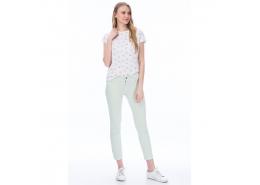 Kadın Pastel Yeşil Pantolon