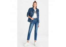 Cindy Vintage Kadın Jean Kot Pantolon
